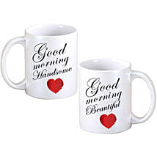 Good Morning Couple Mugs: Anniversary Gifts in Edmonton