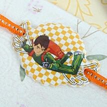Green Ben 10 Rakhi: Send Rakhi to Calgary