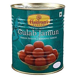 Haldiram Gulab Jamun 1 Kg: Birthday Gifts to Canada