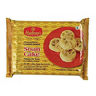 Haldiram Soan Cake 400 Gms: Bhai Dooj Sweets