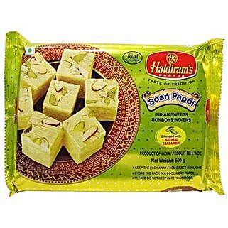 Haldiram Soan Papdi 400 Gms: Bhai Dooj Sweets