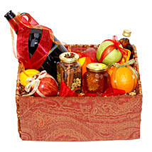 Mulled Wine Basket: Friendship Day Gifts to Canada