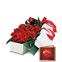 Red Roses Gift Box: Flower Delivery in Canada