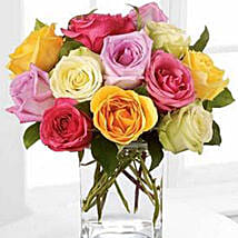 Rose Fest Arrangement: Mother's Day Gifts to Canada
