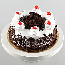 Black Forest Cake Half Kg: Father's Day Gifts to Canada