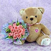 Bear n Flower CIN: Gift Delivery in China