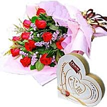Roses n Chocolates CIN: Love & Romantic Gifts To China