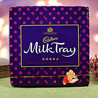 Kids Rakhi Cadbury Milk Chocolate Hamper: Send Gifts to Finland