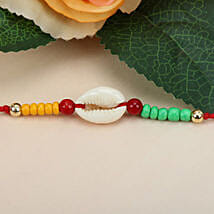 Sea Shell Charm Rakhi FRA: Send Rakhi to France