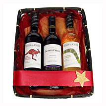 Australian New world Trio: Christmas Gift Delivery Germany