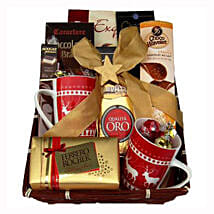 Coffee with Monika Christmas Gift Basket: New Year Gifts Germany