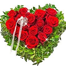Delivering Sentiments: Valentine's Day Bouquet in Germany