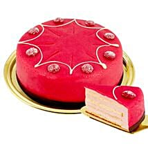 Dessert Raspberry Cake: Send Gifts to Frankfurt