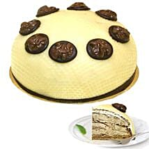 Dessert Walnut Cream Cake: Send Cakes to Dusseldorf