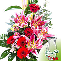 Flower Bouquet Majestic: Love N Romance