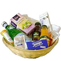 Get Well Gift Basket: New Year Gifts Germany