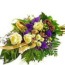 Kind Condolences Bouquet: Thank You Flowers in Germany
