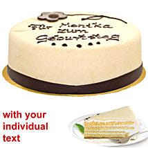 Marzipan Cake: Send Gifts to Frankfurt