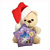 My Sweet Milka Teddy Christmas Star: Send New Year Gifts to Germany