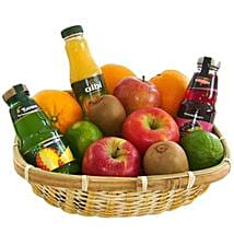 Our Fruit and Juice Gift Basket: Birthday Gifts Delivery in Germany