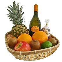Our Healthy and Fruity Gift Basket: Fathers Day Gifts to Germany