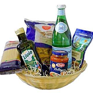 Pasta Bolognese Gift Basket: Thank You
