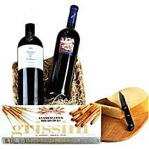 Romantic Wine Hamper: Send Birthday Gifts to Germany
