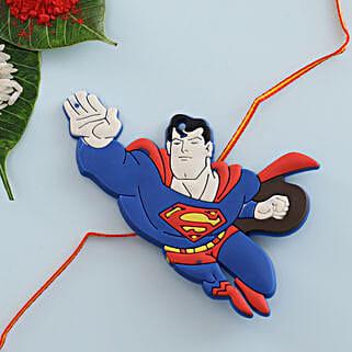 Superman Kids Rakhi: Send Rakhi for Kids to Germany