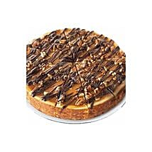 Choc Nut Cheesecake: Valentine's Day Cakes to Indonesia