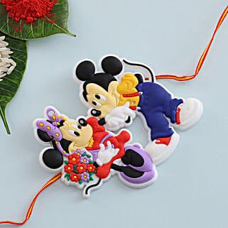 Micky Mouse Kids Rakhi: Rakhi Delivery in Ireland
