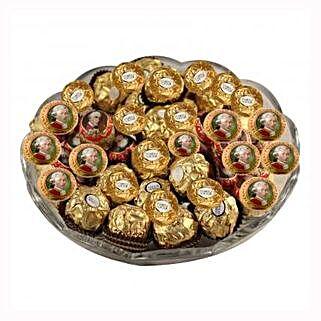 Mozart Rocher Platter: Send Gifts to Ireland