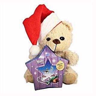 My Sweet Milka Teddy Christmas Star: Send Gifts to Ireland