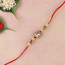 American Diamond Fancy Rakhi: Rakhi Delivery in Italy