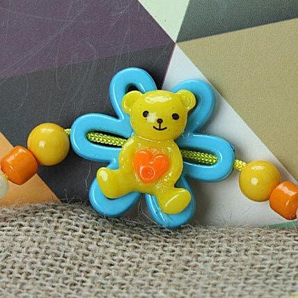 Cute Little Teddy Rakhi KOR