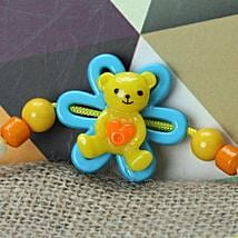 Cute Little Teddy Rakhi KOR: Send Rakhi to Korea