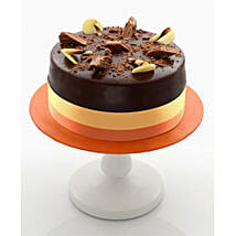Enticing Dark Chocolate Cake: Fathers Day Gift Delivery Kuwait