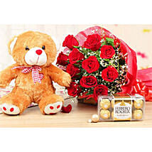 Fabulous Combo Of Lovely Gifts: Get Well Soon Gift Delivery Kuwait