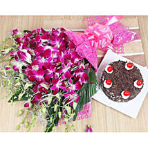 Love For Black Forest And Orchids: Send Orchids to Kuwait
