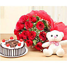 Passion Of Love Gift Combo: Gift Delivery in Kuwait