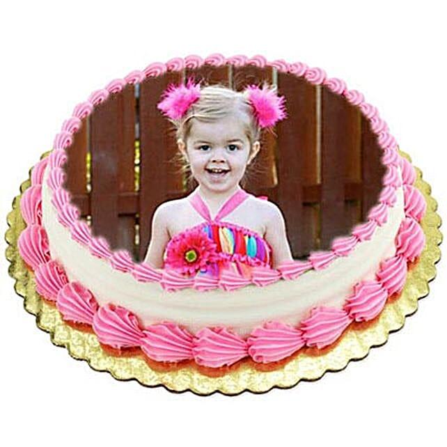 1kg Photo Cake Butterscotch by FNP
