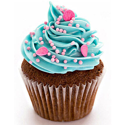 24 Blue and Pink Fantasy Cupcakes by FNP