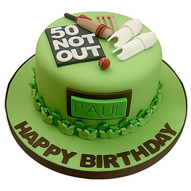 50th Birthday Cake 2kg Eggless