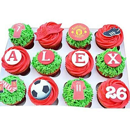 6 Football Special Cupcakes by FNP