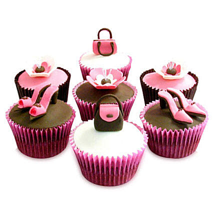 6 Girlie Special Cupcakes by FNP