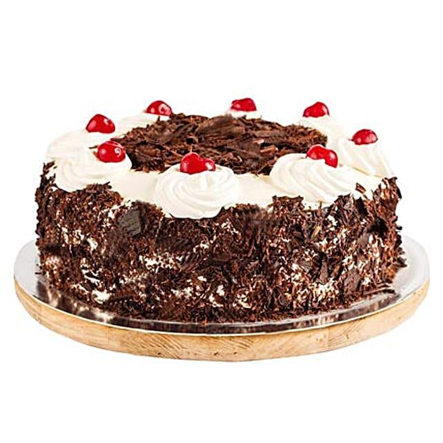 Ambrosial Black Forest Cake 1kg Eggless