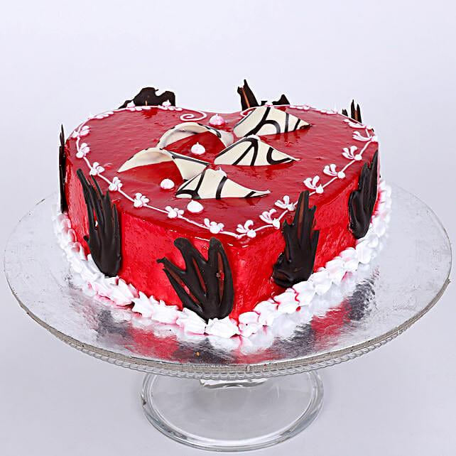 Blossoming Love Cake 1kg Vanilla