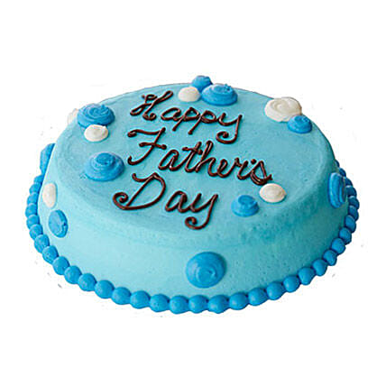 Blue Cream Fathers Day Cake 2kg
