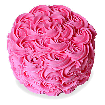 Brimming With Roses Cake 2kg Eggless Butterscotch