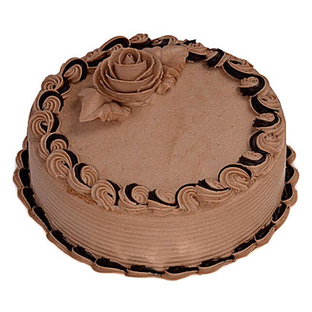 Butter Cream Chocolate Cake Half kg Eggless