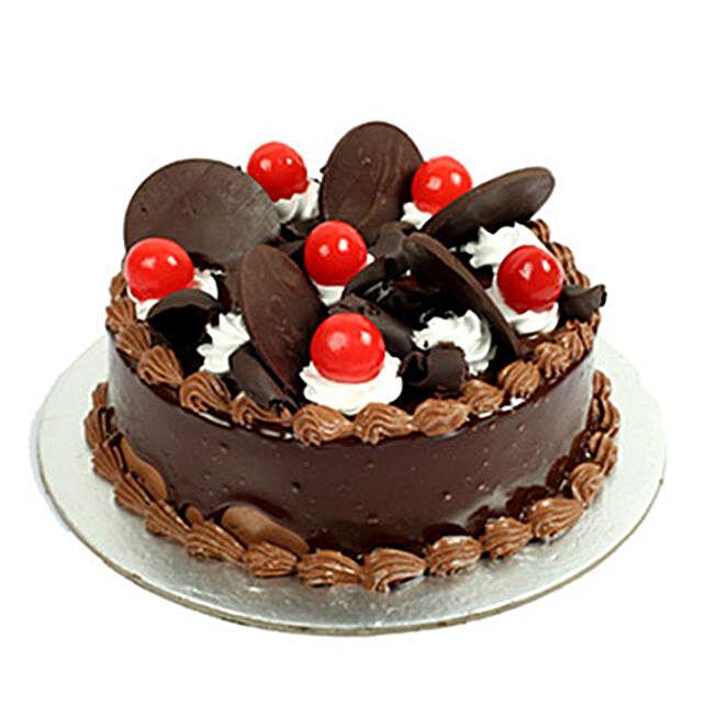 Choco Cherry Cake 1kg Eggless